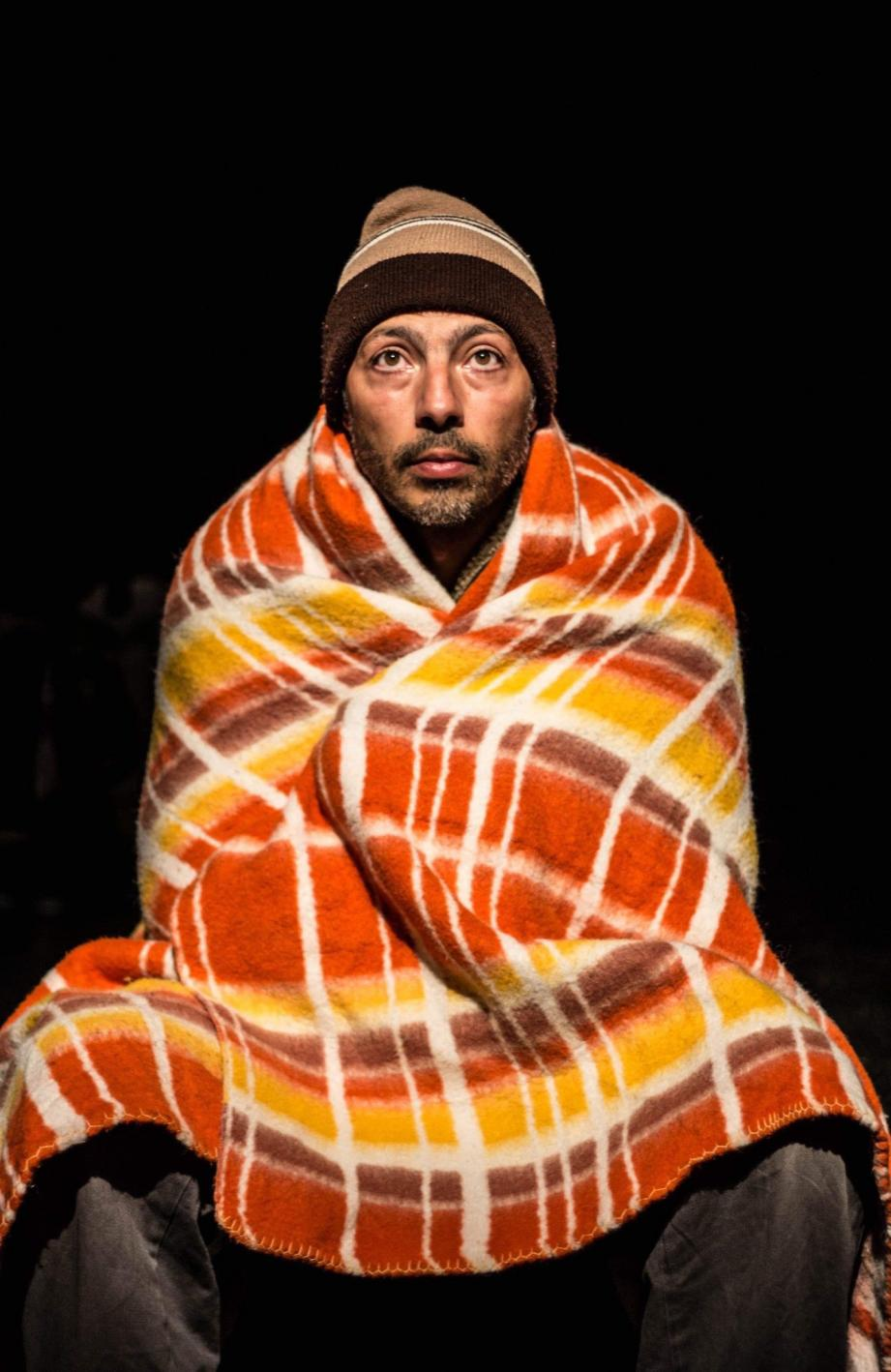 Tony Lourenço offre son texte ce soir sur les planches d'Antibéa.