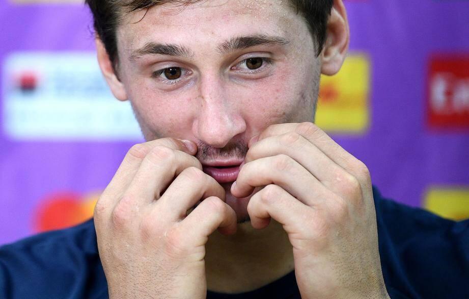 Le néo-Toulonnais s'est dit « très déçu » de ne pas avoir été sur la feuille de match face à l'Argentine.