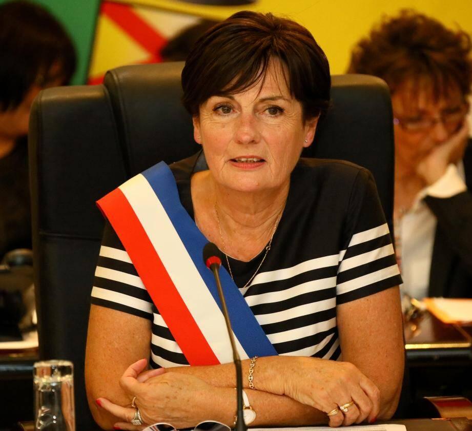 Christine Lequilliec, première adjointe au maire.