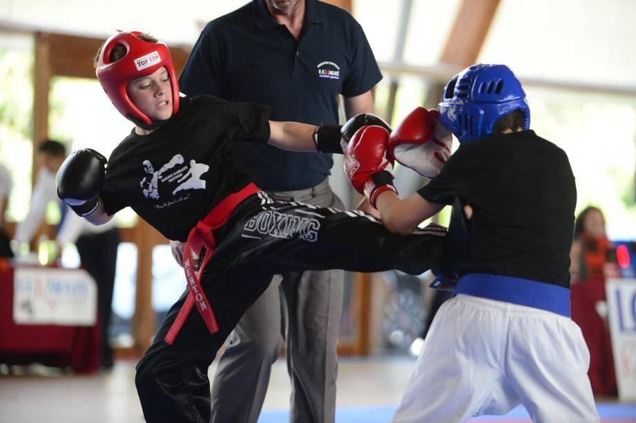 Une section boxing dès 7 ans.(DR)