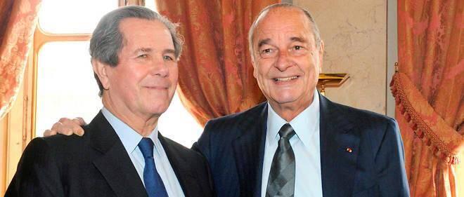 Entre Jean-Louis Debré et Jacques Chirac, la proximité ne s'est jamais démentie.