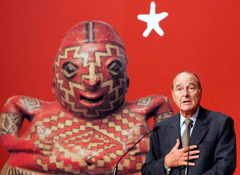Jacques Chirac, un érudit passionné des arts premiers.