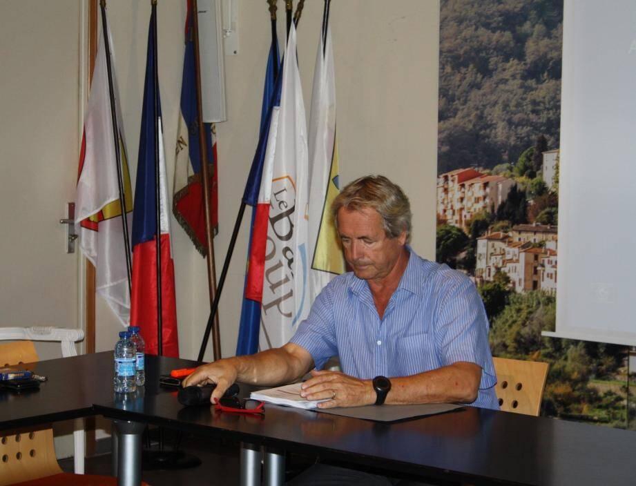 Willy Galvaire a pris ses fonctions de maire il y a 3 ans à la suite de la démission en 2016 du maire élu Richard Ribéro.