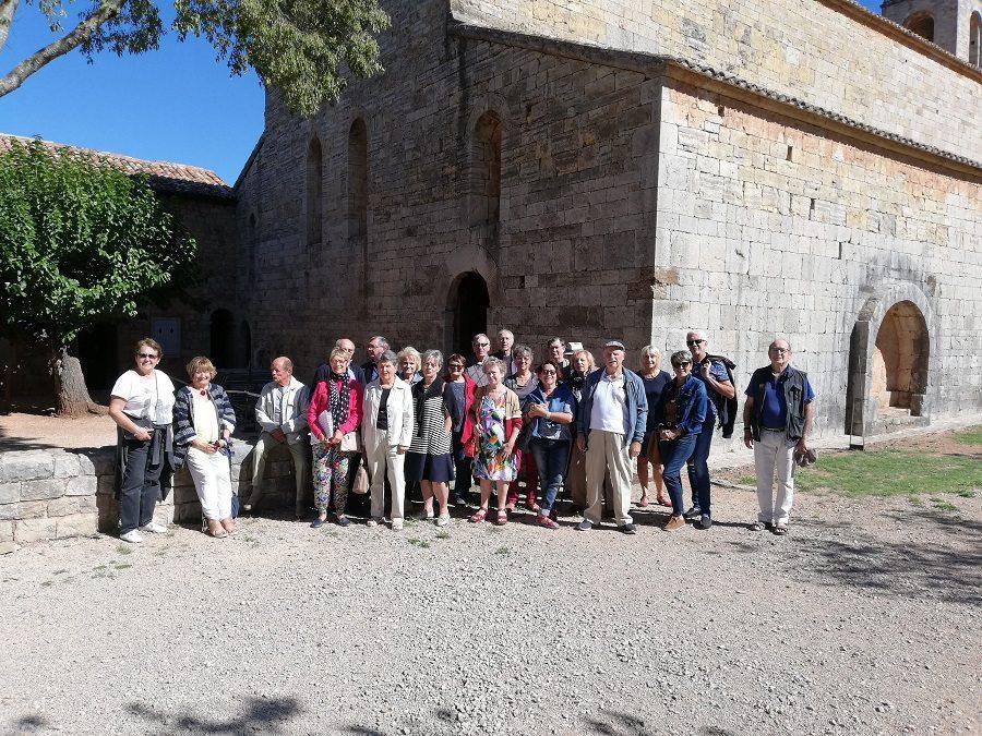 Les Francs-comtois du Var ont visité l'abbaye du Thoronet.