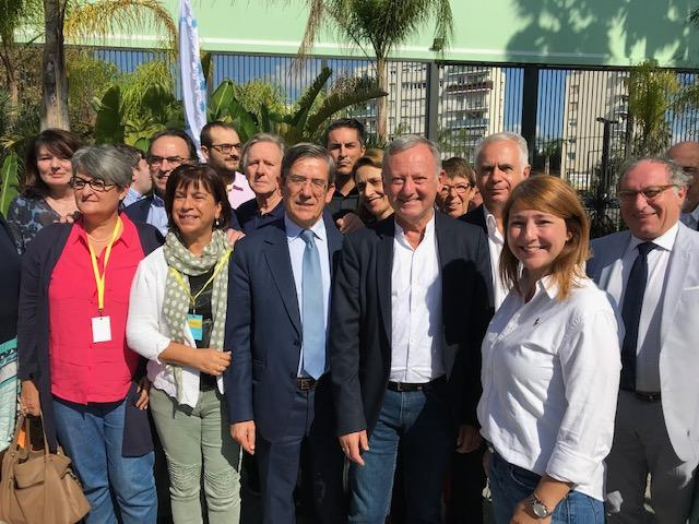 Les Centristes, réunis ici autour de Charles de Courson et Rudy Salles, ont conclu hier leur université de rentrée à Nice.