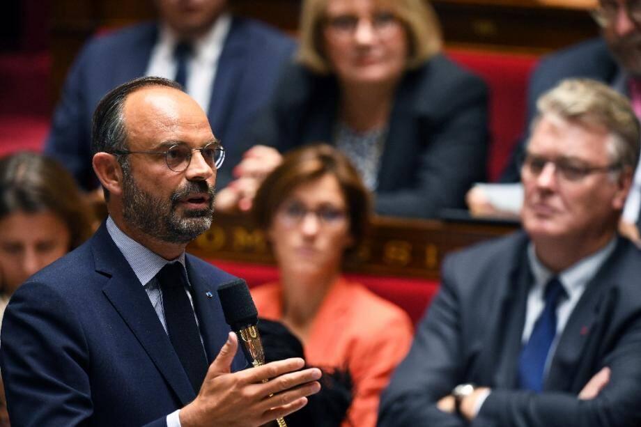Edouard Philippe devant l'Assemblée nationale le 10 septembre 2019
