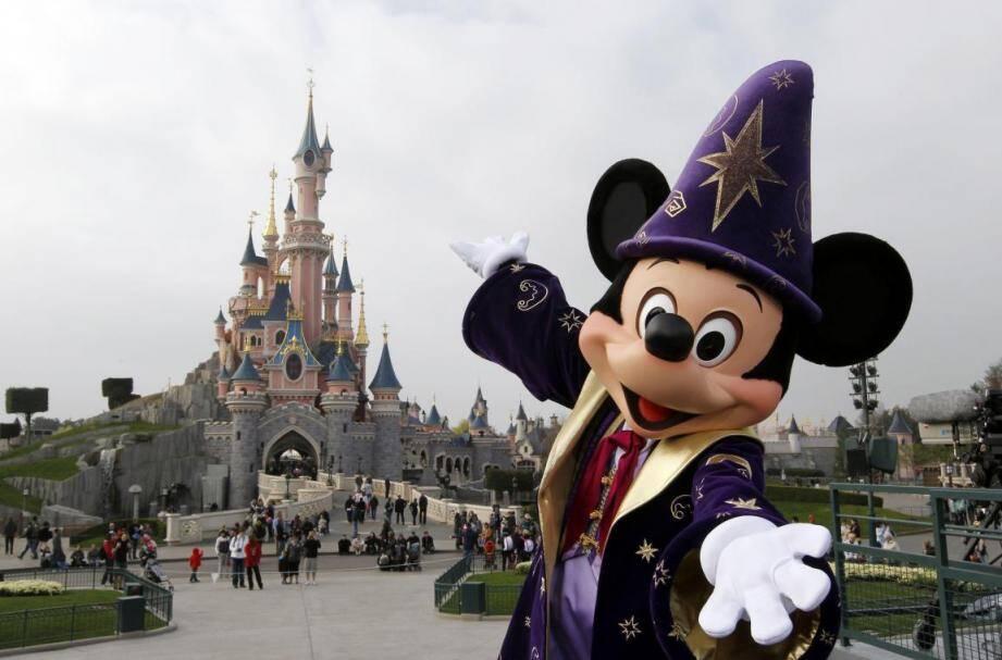 Le parc Disneyland Paris.