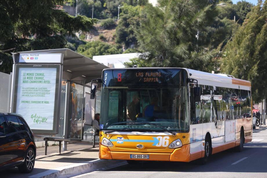 seules 34 des 126 lignes circuleront normalement sur le réseau de la Métropole Nice-Côte d'Azur.