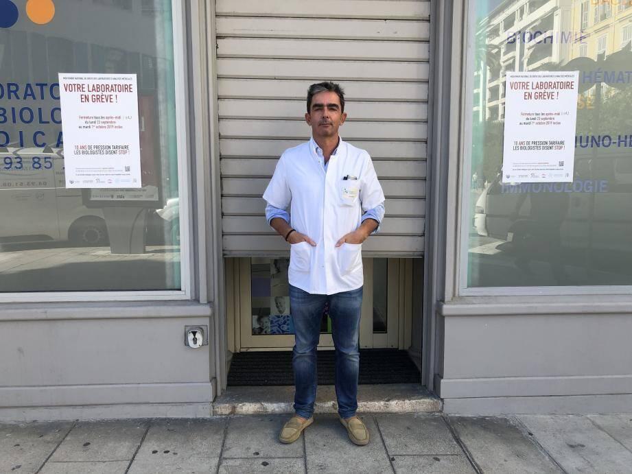 Selon le Dr Fontanel, les patients se montrent compréhensifs et signeraient massivement la pétition contre la fermeture des labos de proximité.