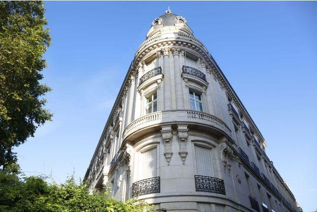 L'appartement parisien de Jeffrey Epstein.