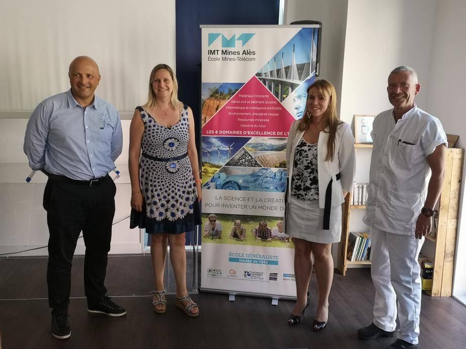L'adjoint à la santé de la ville de Nice, Olivier Guérin, a présenté le programme Tech the Futur au CEEI de Nice.