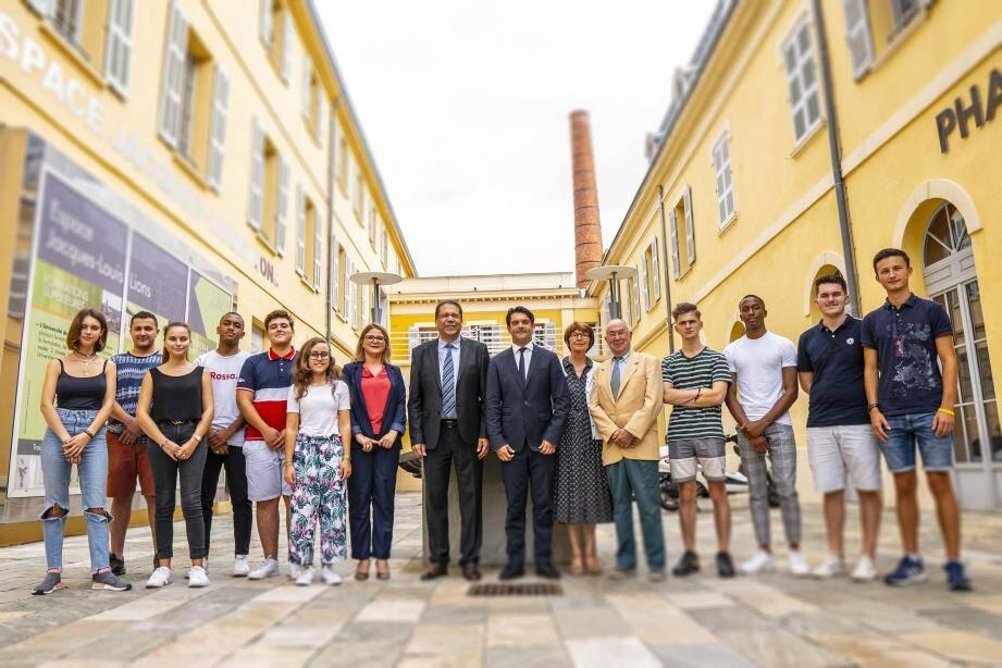 Hier, avait lieu l'inauguration de l'antenne grassoise de l'école d'ingénieurs ECAM-EPMI, implantée à Cergy Pontoise.