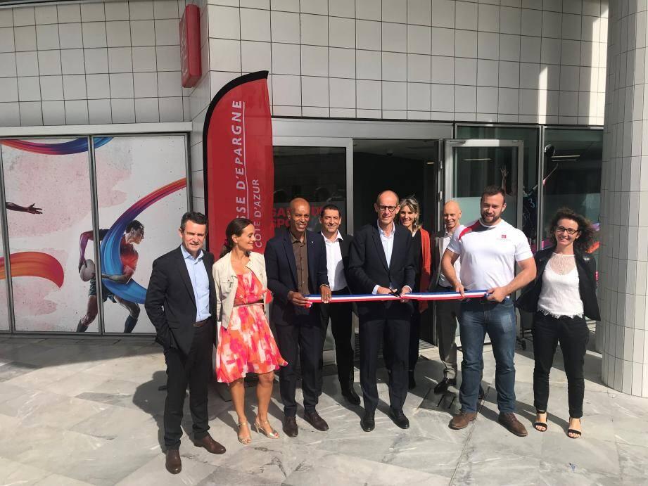 La banque a inauguré deux salles de sport, l'une à Nice et l'autre à Toulon, destinées à ses collaborateurs.