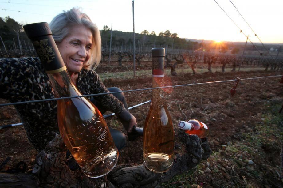Valérie Rousselle agrandit son patrimoine varois avec ... du Côtes-du-Rhône!