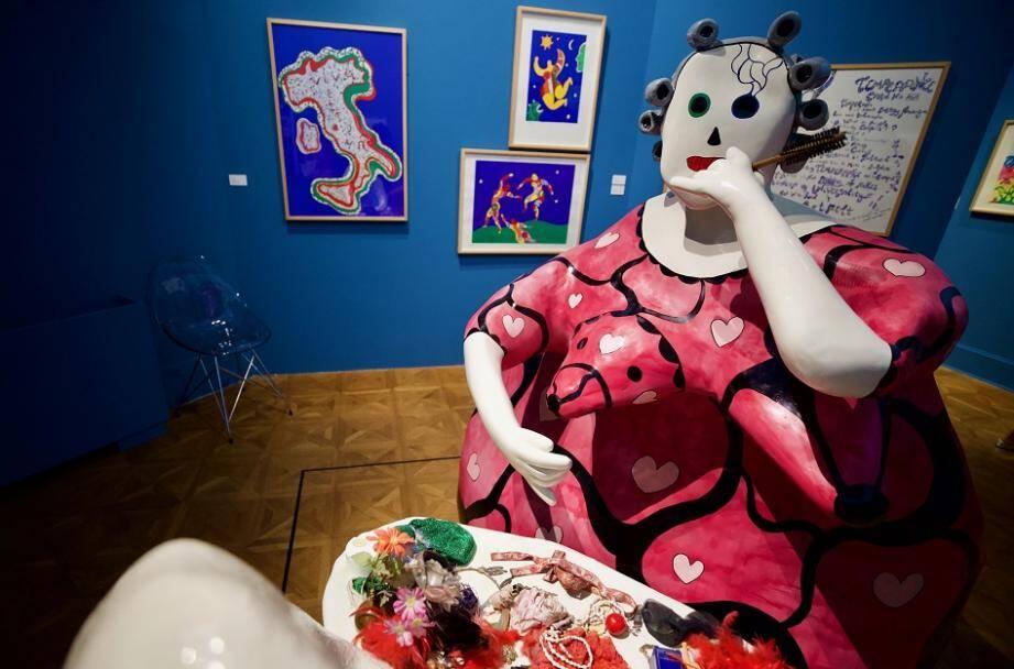"""""""Niki de Saint Phalle, l'ombre et la lumière"""" à voir jusqu'au 3 novembre."""