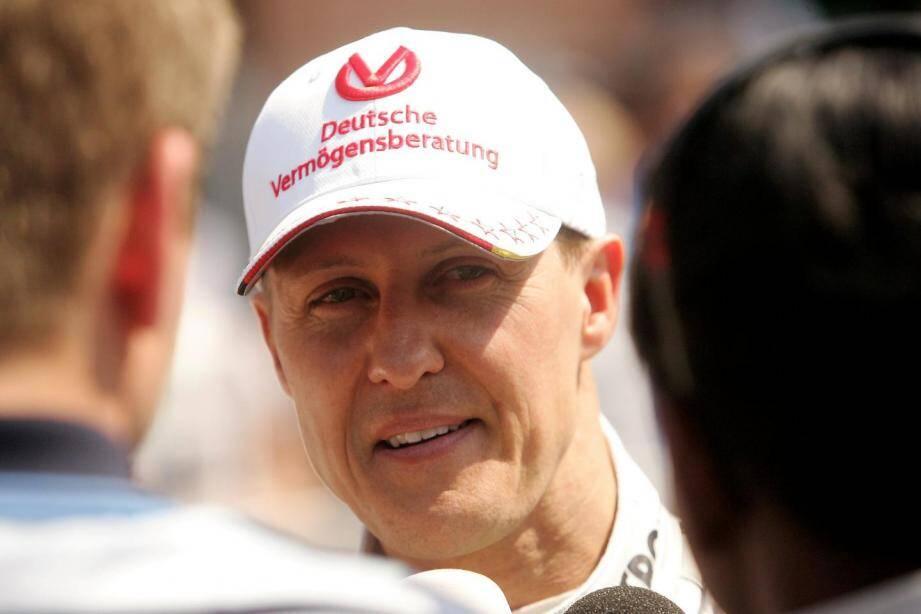 Michael Schumacher lors des essais du Grand prix de F1 de Monaco le 26 mai 2012.
