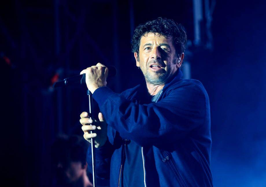Patrick Bruel en concert à Solliès-Pont, le 26 juillet.