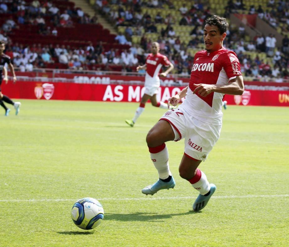 Ben Yedder lors du match AS Monaco vs Nîmes le 25 août dernier.
