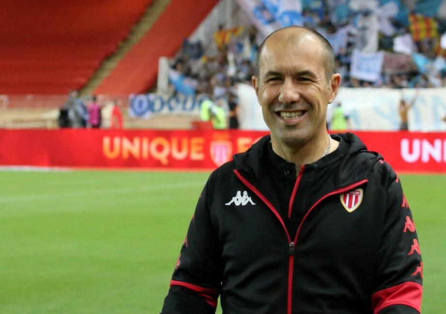 L'entraîneur de l'AS Monaco, Leonardo Jardim.