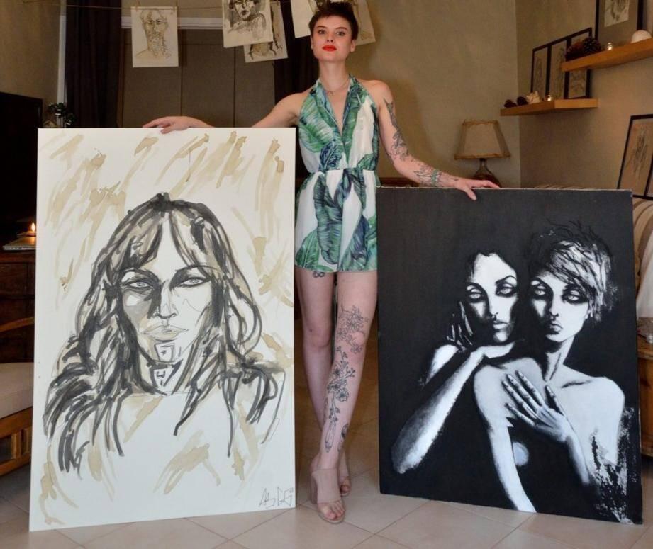 L'univers artistique d'AS.GO est à découvrir ce dimanche à Fontvieille (de 10 h à 19 h).