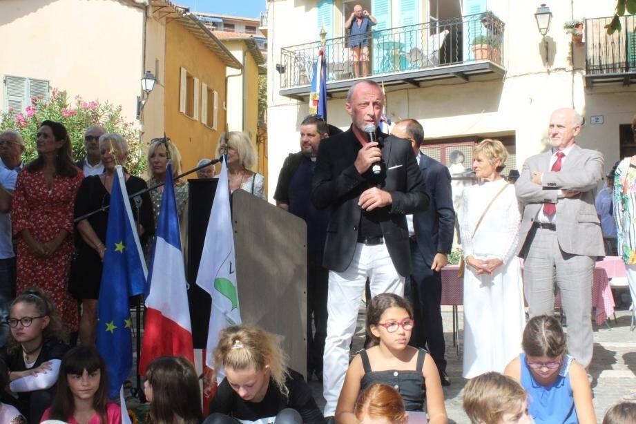 Christophe Trojani sera candidat à sa succession à Villefranche-sur-Mer.