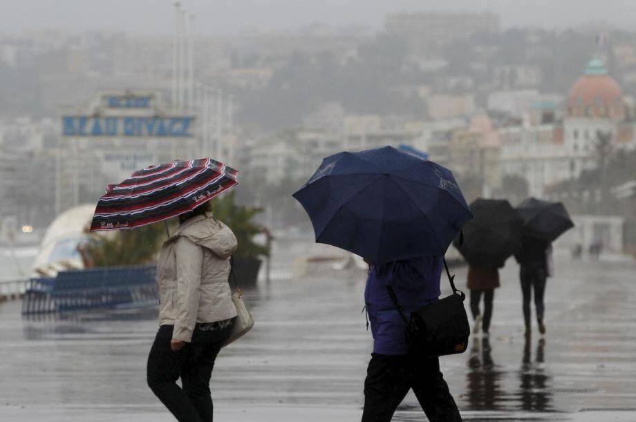De la pluie est attendue ce lundi sur la Côte d'Azur.