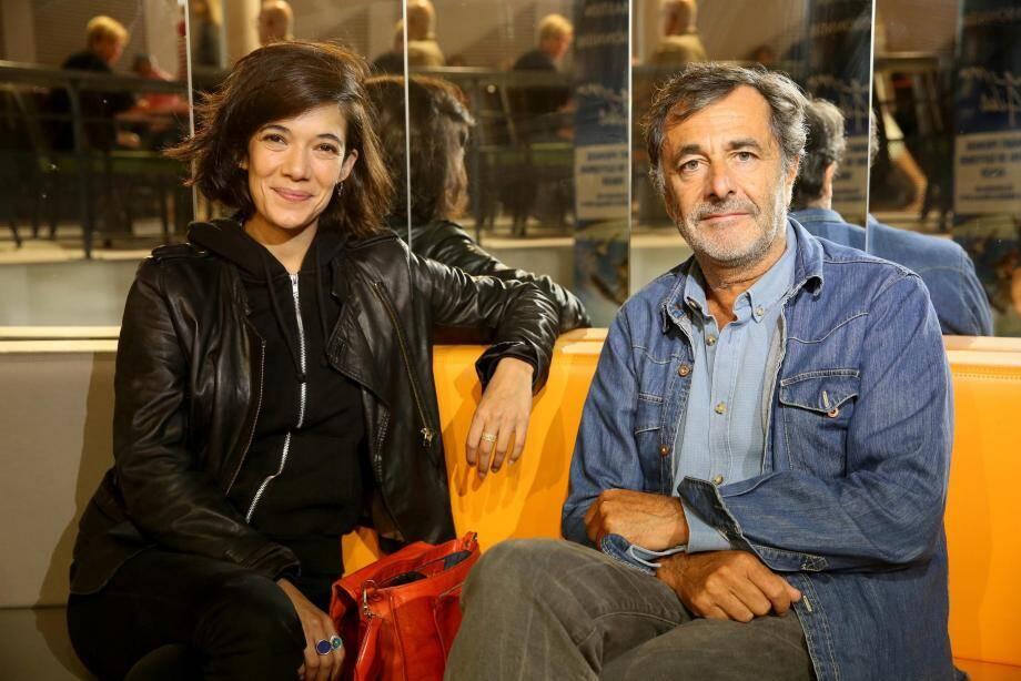 L'actrice principale Mélanie Doutey et le réalisateur Nicolas Vanier.