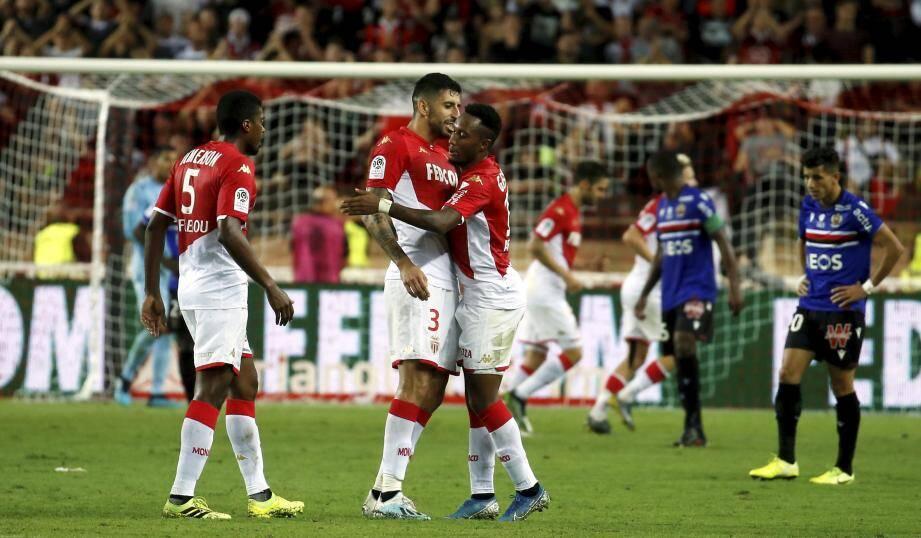 L'AS Monaco a gagné son premier match de la saison.