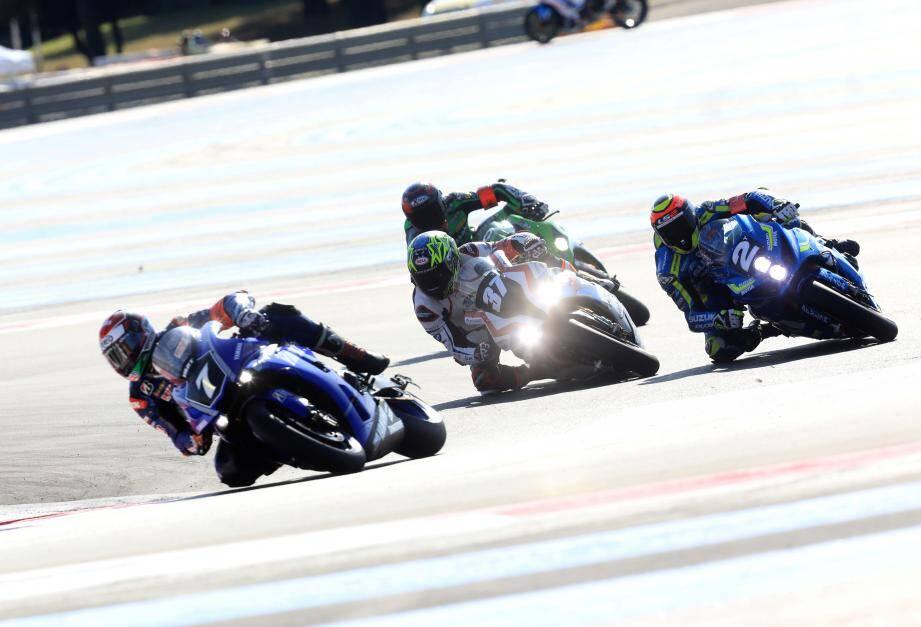 La Yamaha R1 de pointe de l'équipe autrichienne YART (n°7) sera en pole samedi à 15 heures.