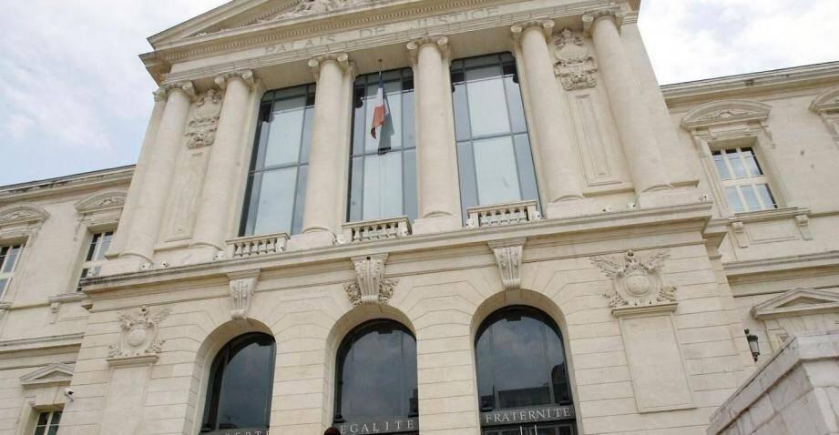 Le tribunal correctionnel de Nice où se tenait l'audience.