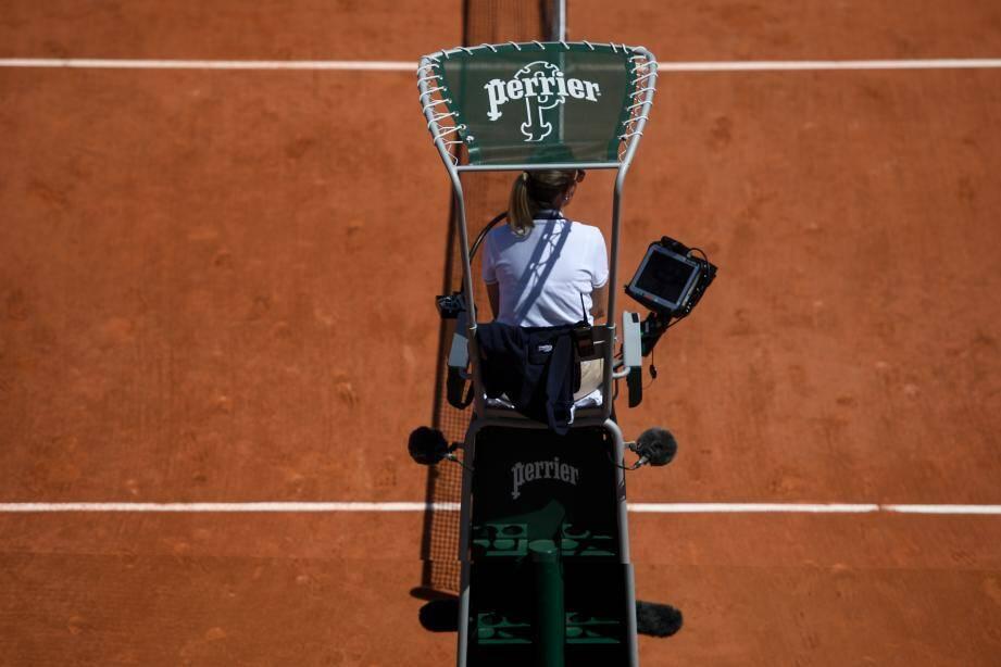 Photo d'illustration d'un arbitre de tennis.
