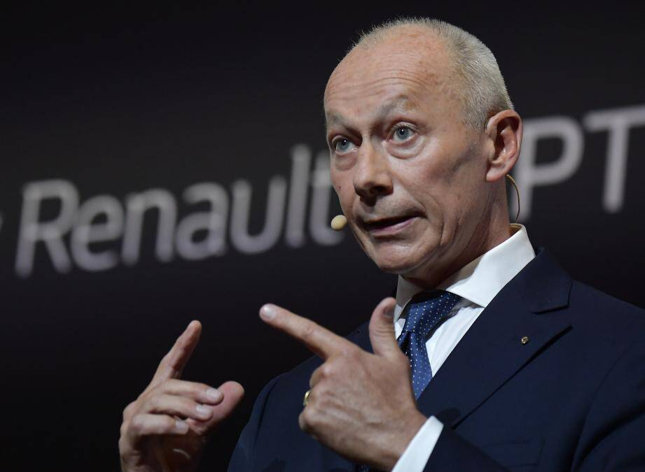 Thierry Bolloré, directeur général de Renault.