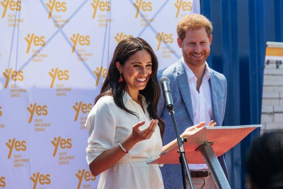 Le duc et la duchesse de Sussex, Harry et Meghan.