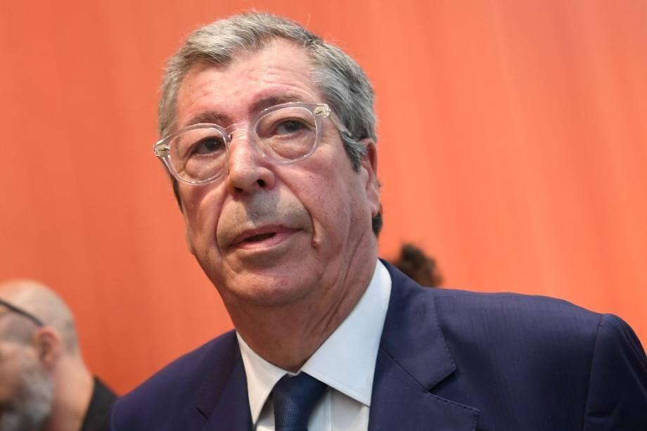 Patrick Balkany au tribunal à Paris le 20 mai 2019 lors de son procès pour fraude fiscale.