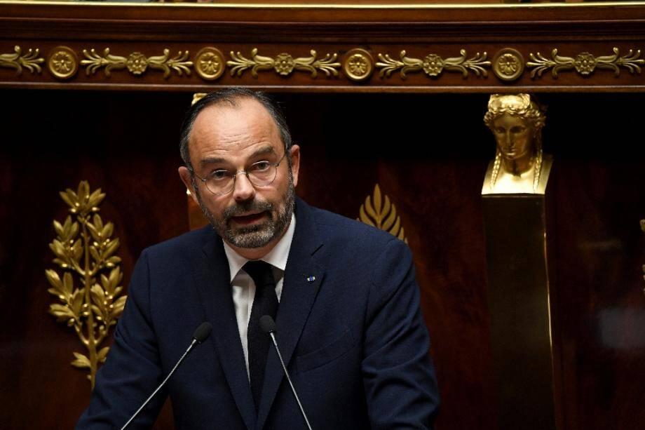Le Premier ministre Edouard Philippe à l'Assemblée le 7 octobre 2019
