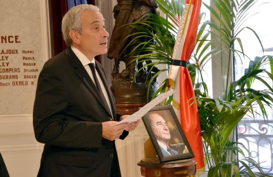 Laurent Stefanini, ambassadeur de France à Monaco.