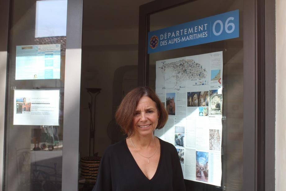 Sophie Deschaintres, conseillère départementale LR, se lance dans la bataille des municipales à Biot.