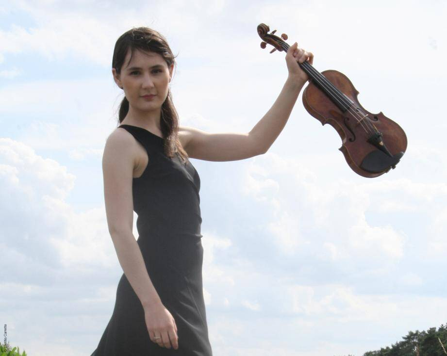 La violoniste Fanny Clamagirand.(DR)