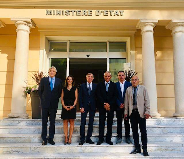 Robert Chanas, Ludmilla Raconnat Le Goff, Didier Gamerdinger, Roberto Lacchin, Maurizio Morabito et Roberto Parodi.(DR)