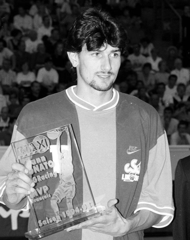 Yann Bonato, après son départ de l'OAJLP pour le PSG Racing puis pour Limoges où il est désormais installé.(Photo-archives M. B.)