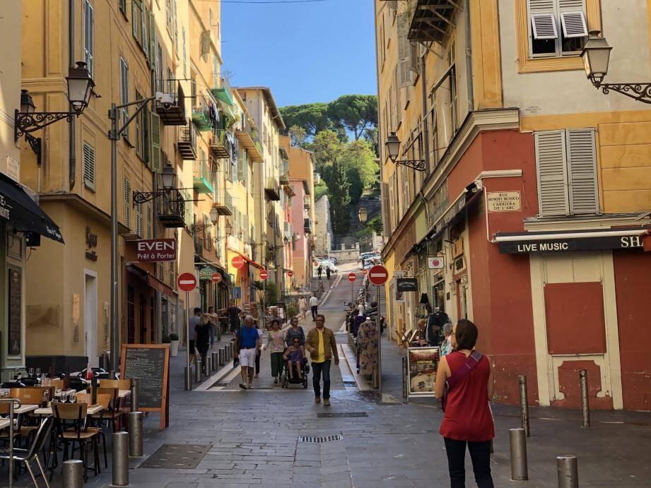 La scène de violences s'était jouée le 22 septembre, à l'angle des rues Rossetti et Benoît-Bunico.