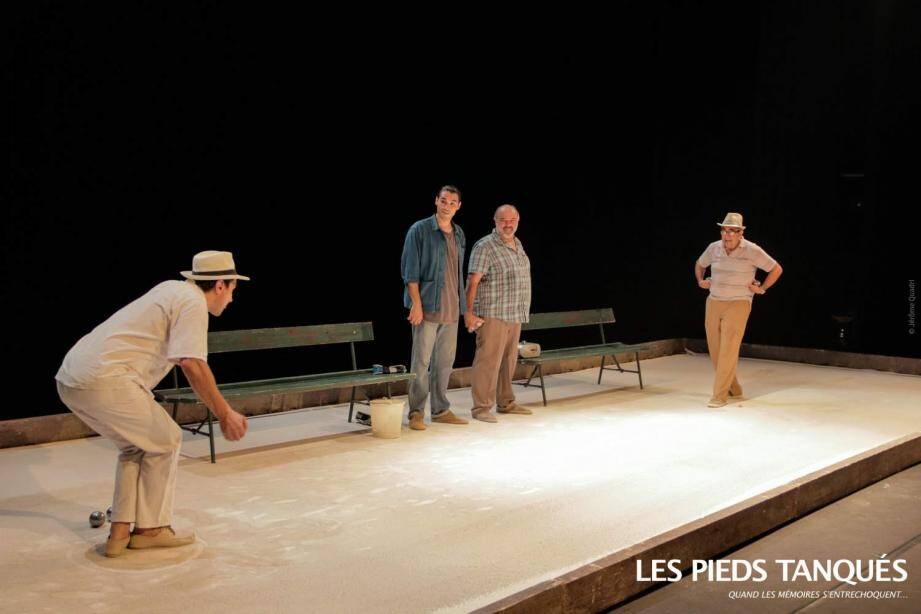 Les pieds tanqués un des deux spectacles gratuits samedi soir Pré des Arts.(DR)
