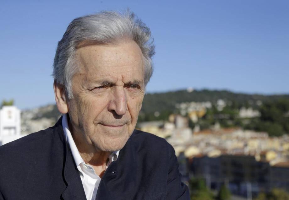 Le réalisateur d'Adults in the room, mardi, à Nice.