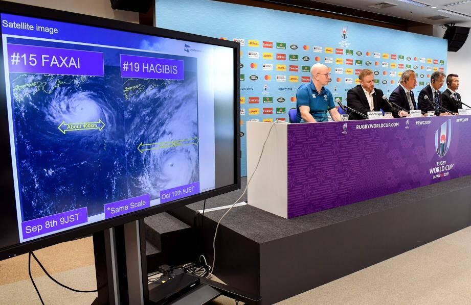 Face aux prévisions météo, la décision de World Rugby est tombée hier midi : le « Crunch » est annulé. Les Français ont du coup immédiatement levé le camp. Et rejoint Oita en bus, où ils disputeront leur quart de finale, très probablement contre le Pays de Galles le 20 octobre.