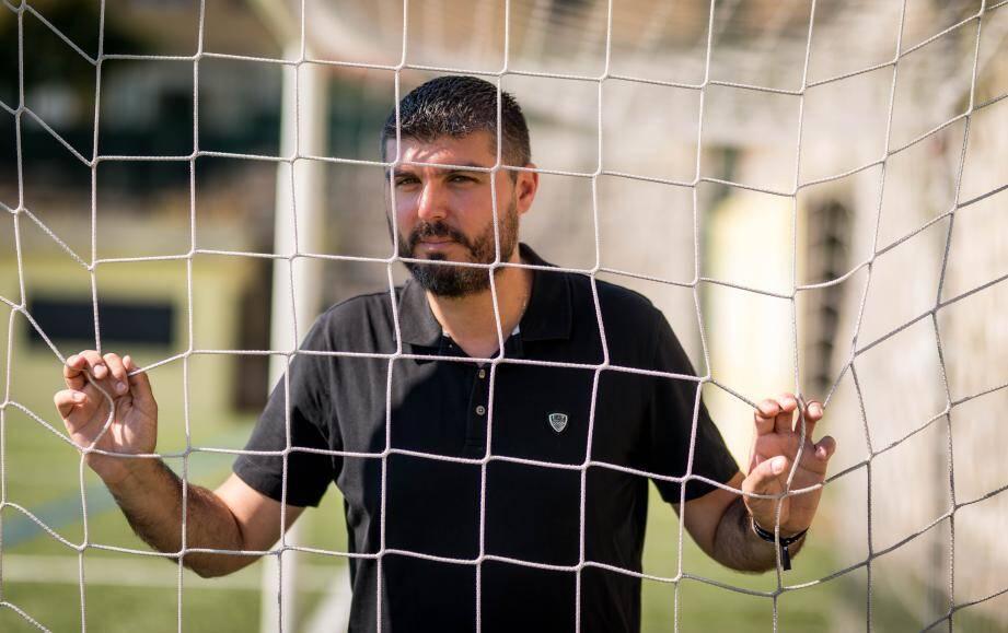 Jérémy Gagliardi, l'entraîneur de l'ASRCM. (L.B)