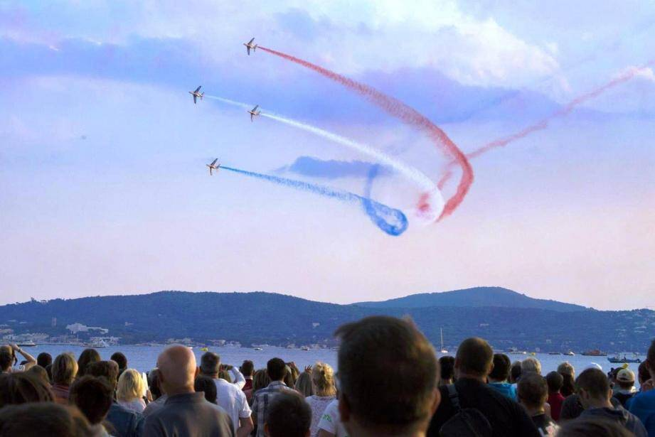 Le show de la Patrouille de France sera encore une fois l'un des temps forts du Free Flight World Masters à Sainte-Maxime ce week-end.