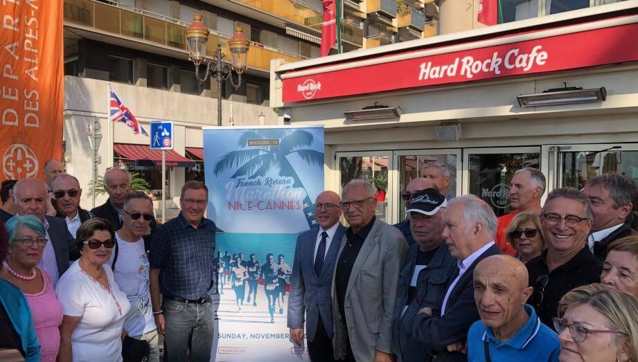 L'affiche de l'édition 2019 a été dévoilée par Pascal Thiriot, le président d'Azur Sport Organisation, en présence du député Eric Ciotti, de Richard Papazian, subdélégué aux sports à Nice, et de nombreux bénévoles.