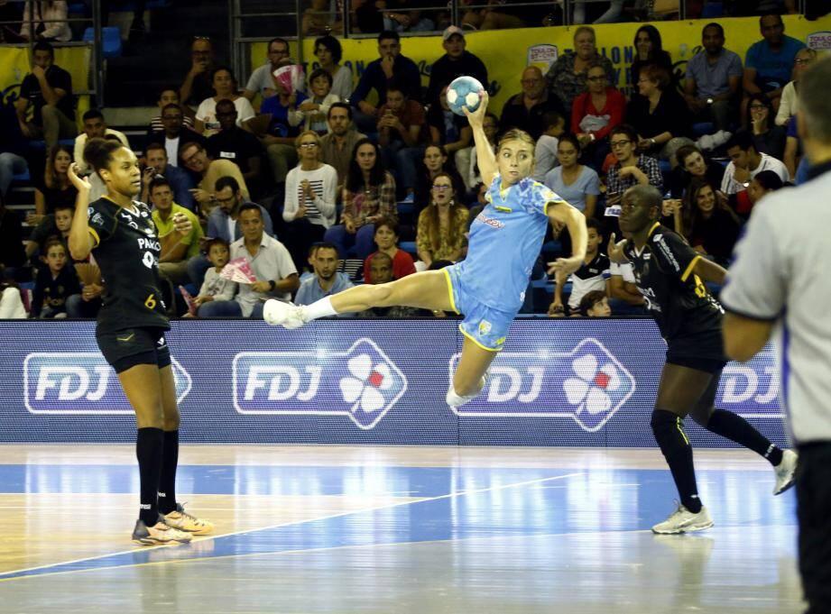 Laurène Catani et les Toulonnaises ont besoin des points de la victoire pour rester au contact du peloton de tête.
