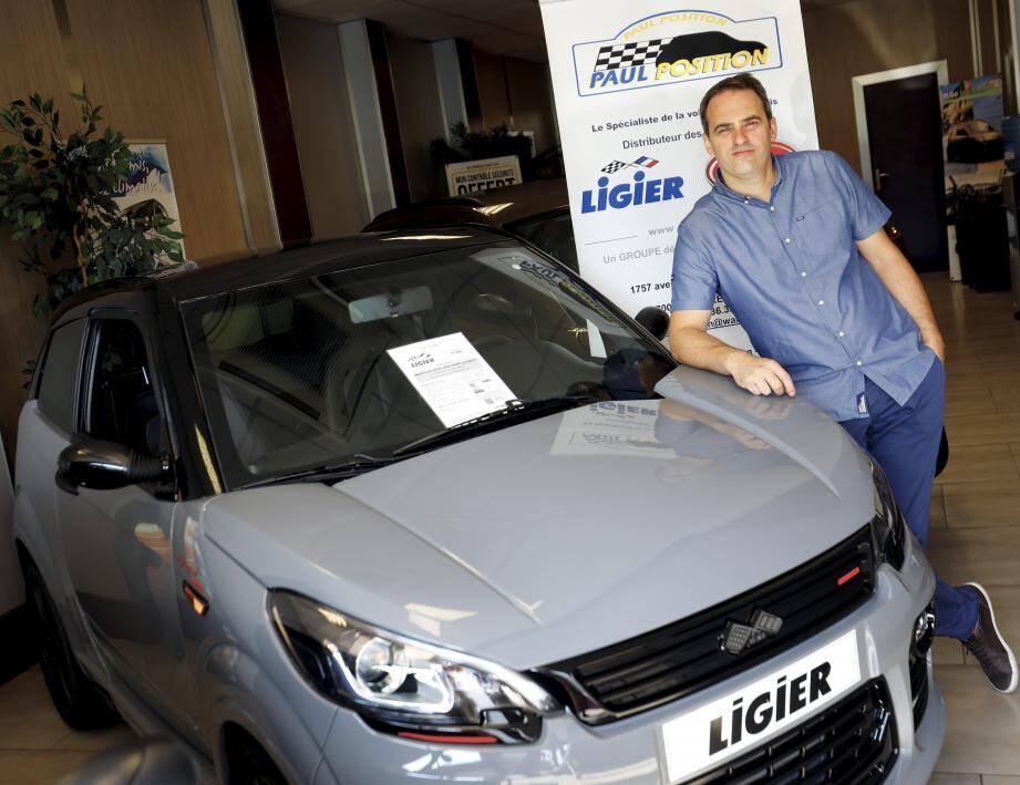 Paul Position est le premier groupe de distribution de la marque Ligier en France, qu'il représente depuis 18 ans.
