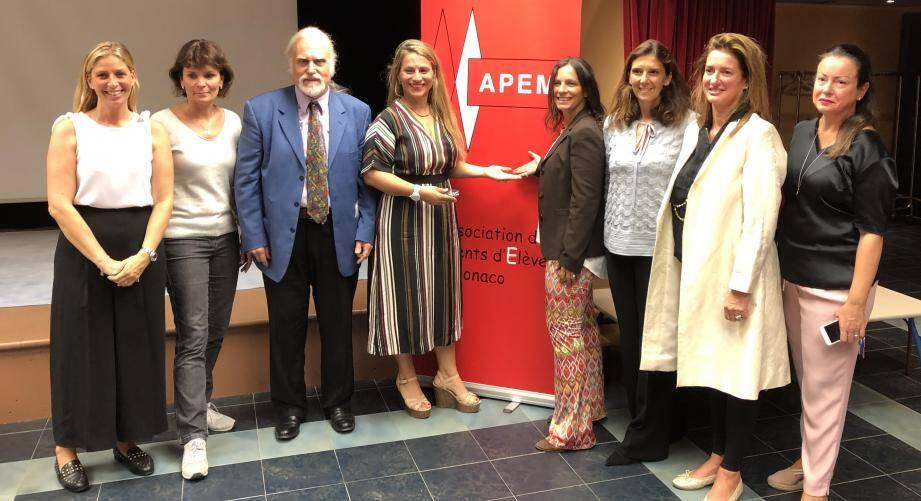 L'Association des parents d'élèves de Monaco a élu son nouveau comité.(DR)